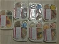 ウェルネスダイニングで注文した冷凍宅配弁当7食分