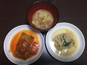 大阪泉佐野産ロールキャベツトマトソース煮セット解凍後